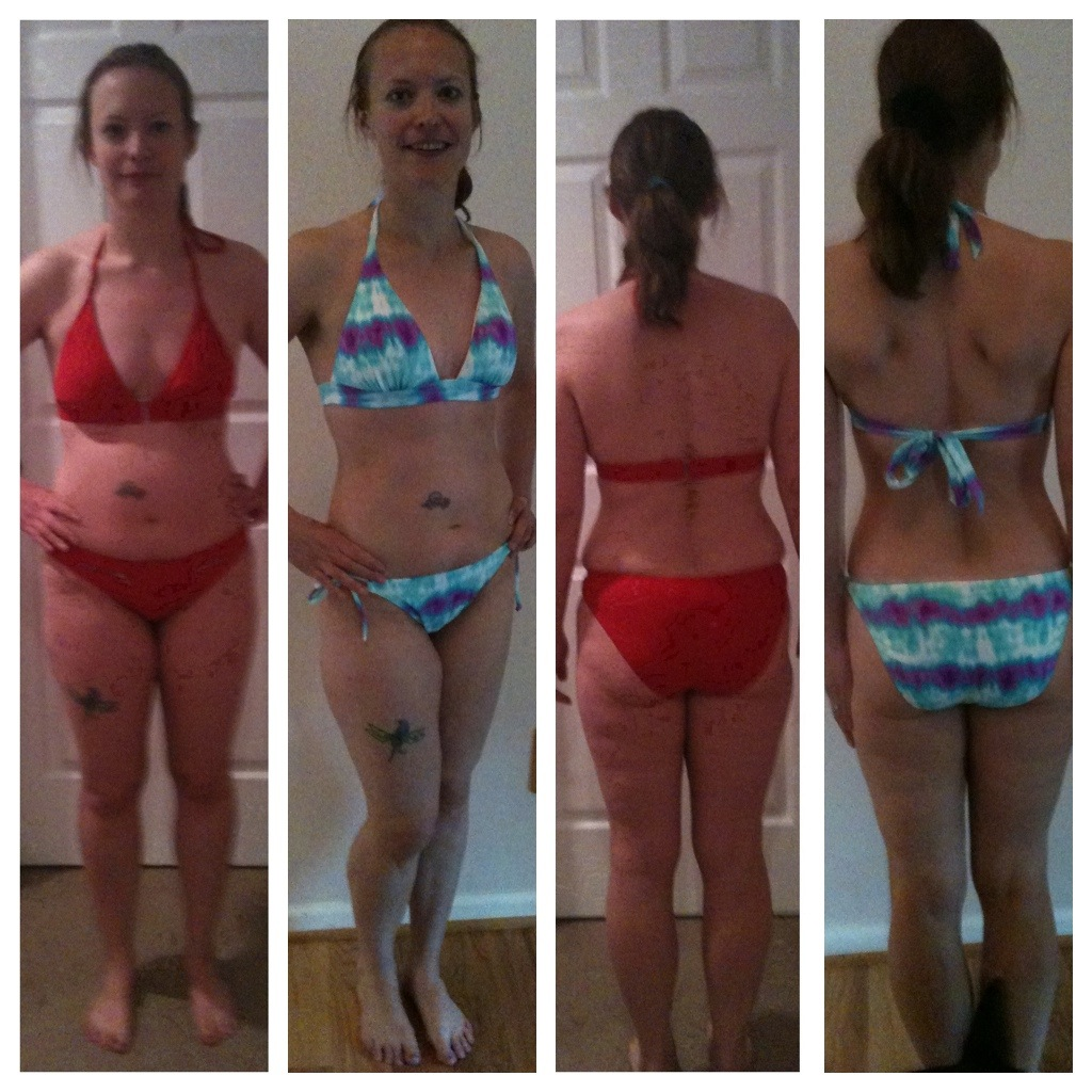 Cori Oliver - Before and After Insanity Results