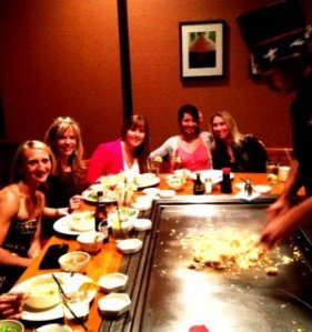 Japanese Steak House Diamond Coaches Dinner